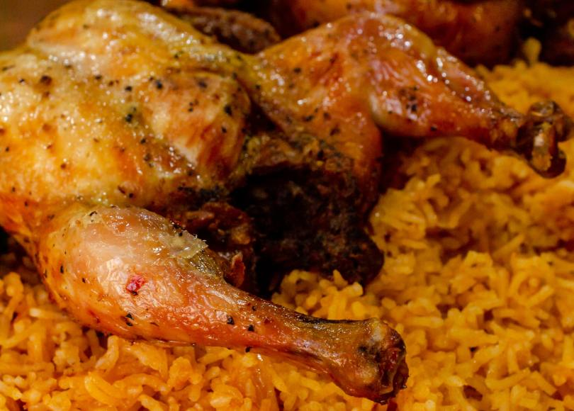 How to make easy Rice and chicken (Kuwaiti machbos)